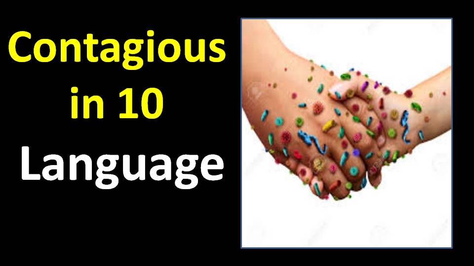 contagious synonym