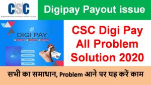 digipay all problem solution