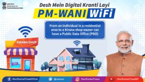 PM Modi Wani Wifi